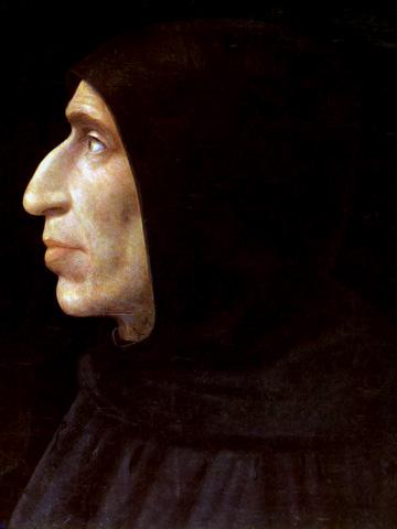 Portrait of Girolamo Savonarola, 1497 - 1498 - Fra Bartolomeo