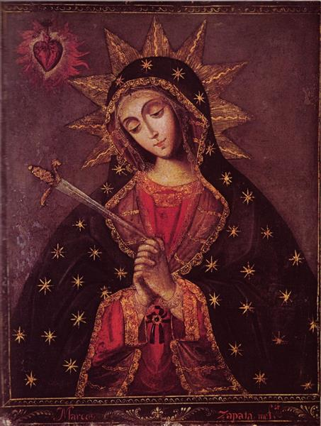 Our Lady of Sorrows - Marcos Zapata