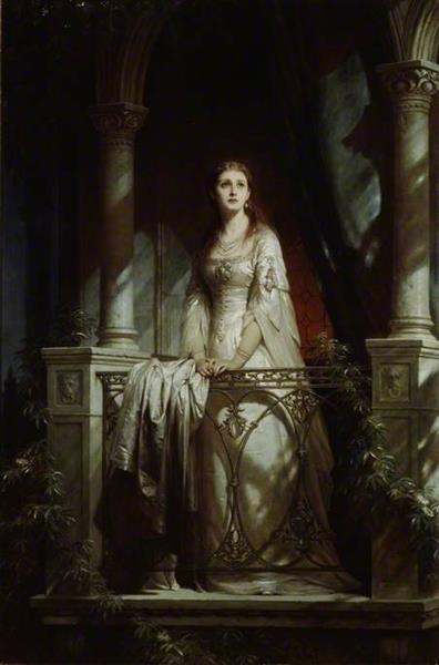 Juliet, 1877 - Thomas Francis Dicksee