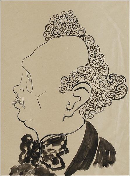 Man in Profile - Enrico Caruso