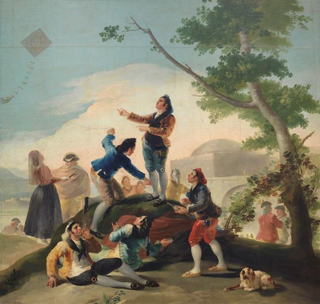 The Kite, 1777 - 1778 - Francisco Goya