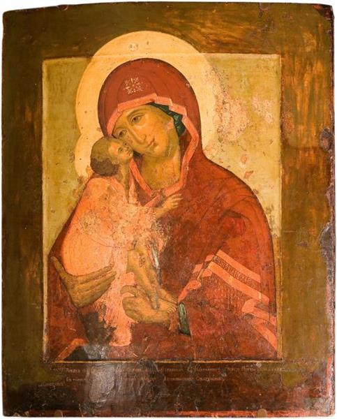 Our Lady of the Don, 1662 - Simon Ushakov