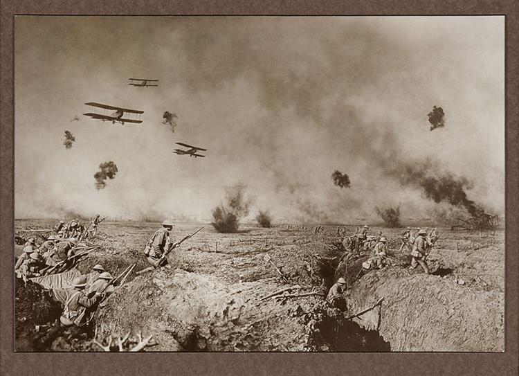 Episode After Battle of Zonnebeke, 1918 - Frank Hurley