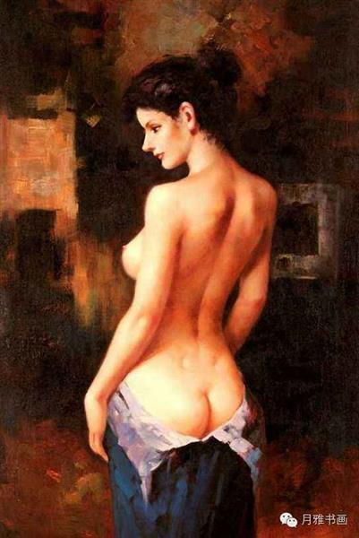 Chinese nude girl paintings — pic 15
