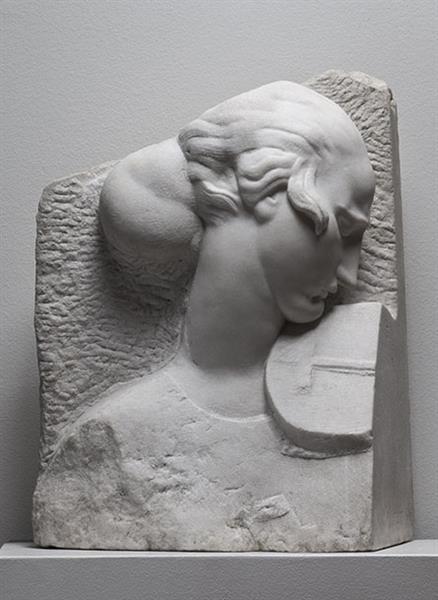Girl with Violin, 1922 - Ivan Mestrovic