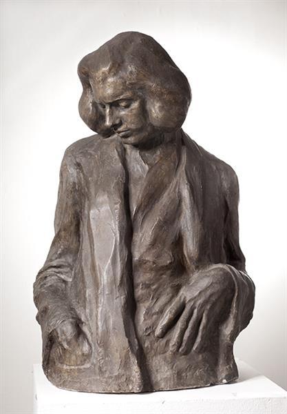 Portrait of Tomislav Krizman, 1904 - Ivan Mestrovic