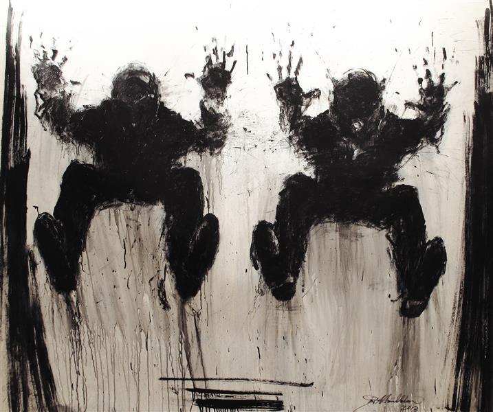 Jumping Shadow, 2013, 2013 - Richard Hambleton