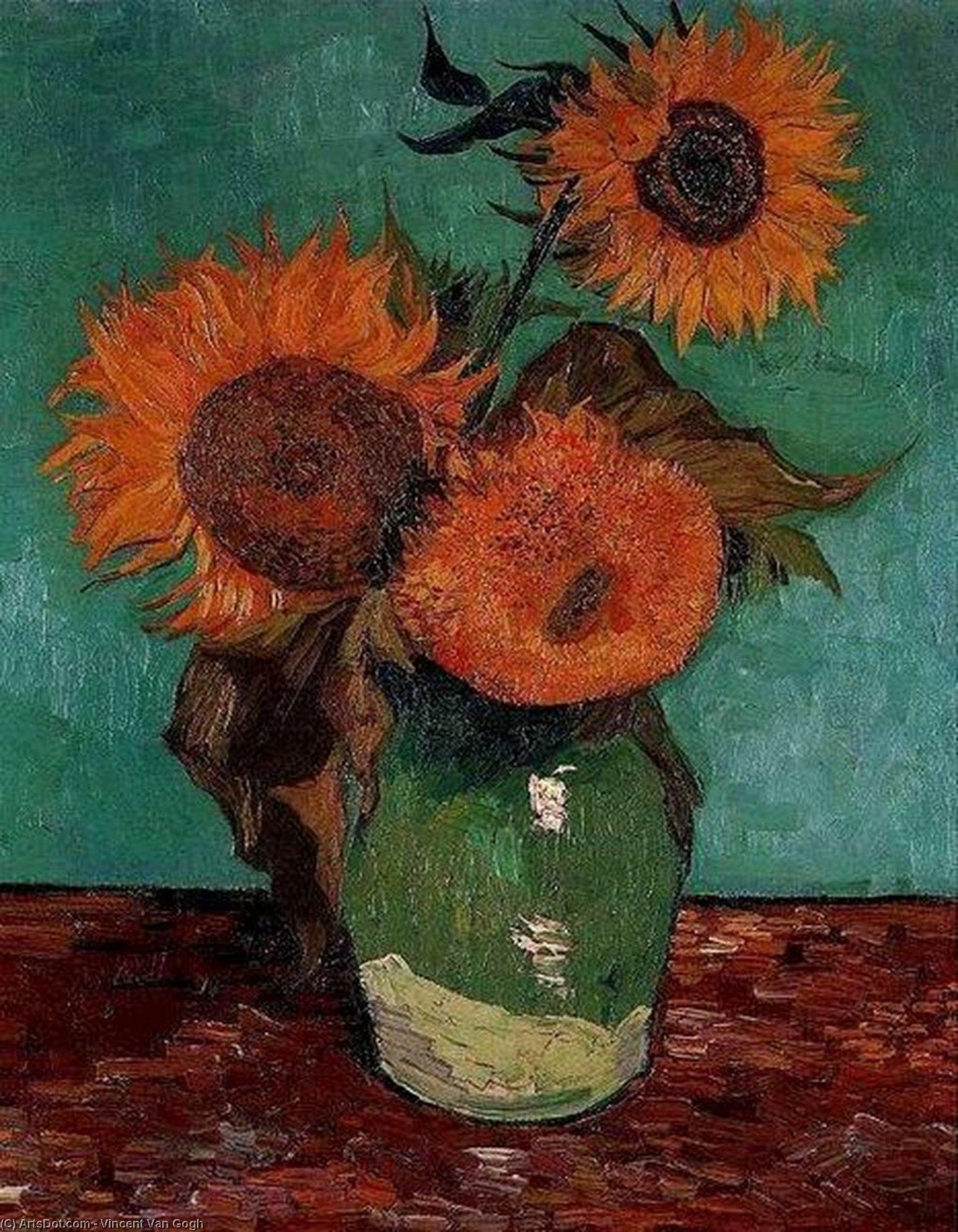 Sunflowers 1888 vincent van gogh wikiart sunflowers 1888 vincent van gogh reviewsmspy