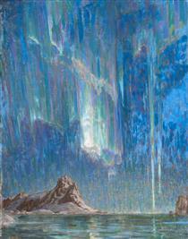 Northern Lights; Study from North Norway - Анна Боберг