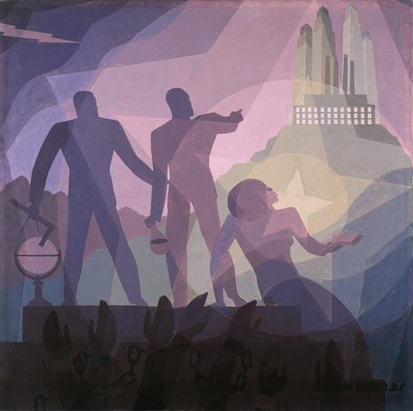 Aspirations, 1936 - Aaron Douglas