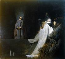 The Raising of Lazarus - Jan Lievens