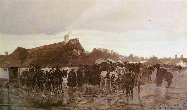 Wołyńskie Maymeczko, 1875 - Józef Chełmoński
