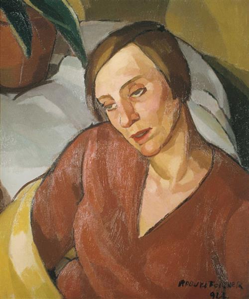 Cabeza, 1922 - Raquel Forner