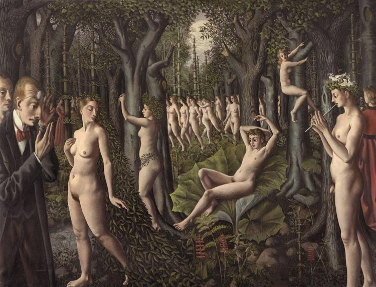 The Awakening of the forest, 1939 - Paul Delvaux
