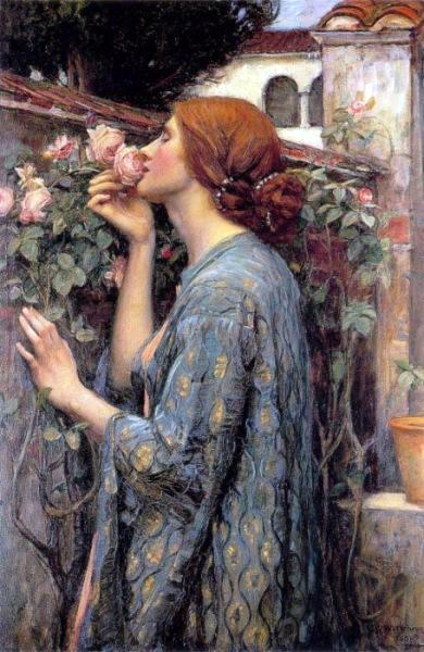 A alma da rosa ou Minha doce rosa, 1907 - 1908 - John William Waterhouse