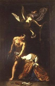 Martyrdom of St. Cecilia - Orazio Riminaldi