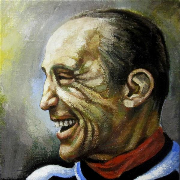 Portrait of Enzo Bearzot, 2018 - Zani Corrado
