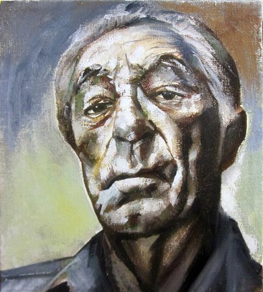 Portraite of Robert Mitchum, 2018 - Zani Corrado