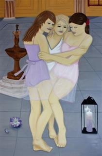 Die Grazien aus Florenz - Eva Janina Wieczorek