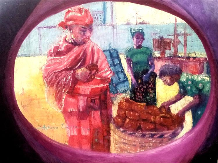 Sekere, 2004 - Olusola David, Ayibiowu - WikiArt org