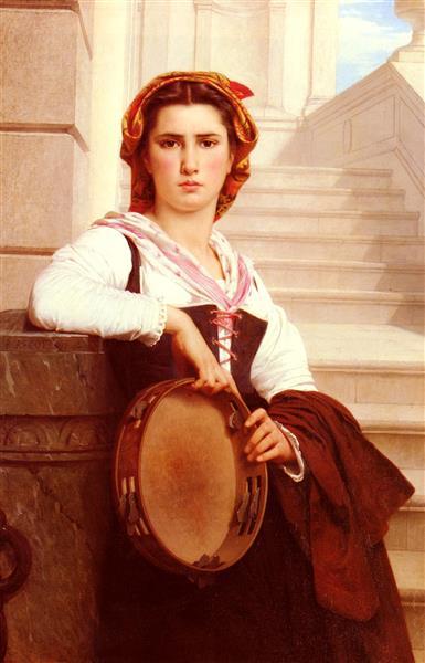 The Bohemian, 1871 - Pierre-Auguste Cot