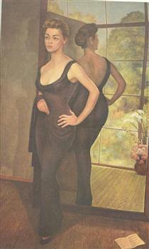 Portrait of Silvia Pinal - Diego Rivera