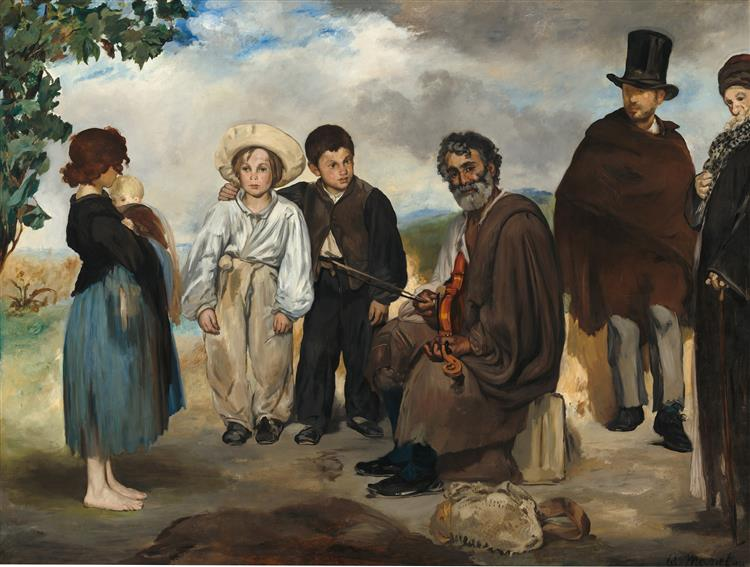The old musician, 1862 - Edouard Manet