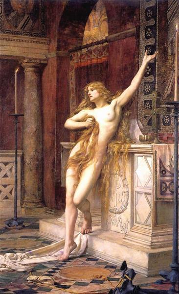 Hypatia, 1885 - Чарльз Уильям Митчелл