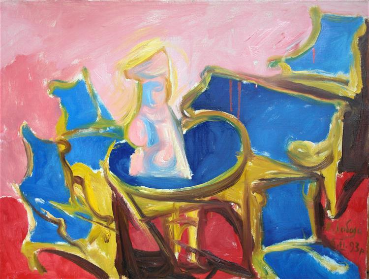 Blue Furniture, 1993 - Владимир Лобода