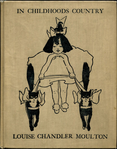 Title page from In Childhoods Country (Moulton), 1896 - Ethel Reed