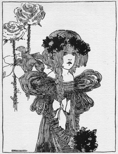 Illustration from In Childhoods Country (Moulton), 1896 - Ethel Reed