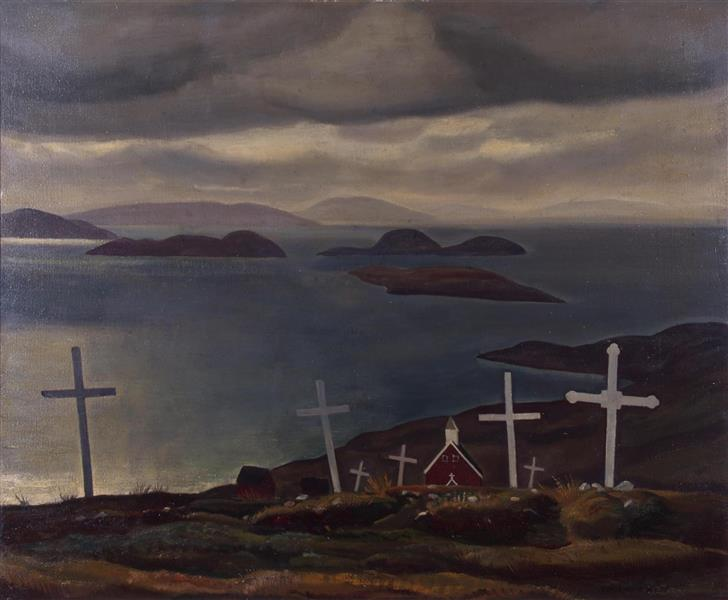 Christian Graves, Greenland - Rockwell Kent