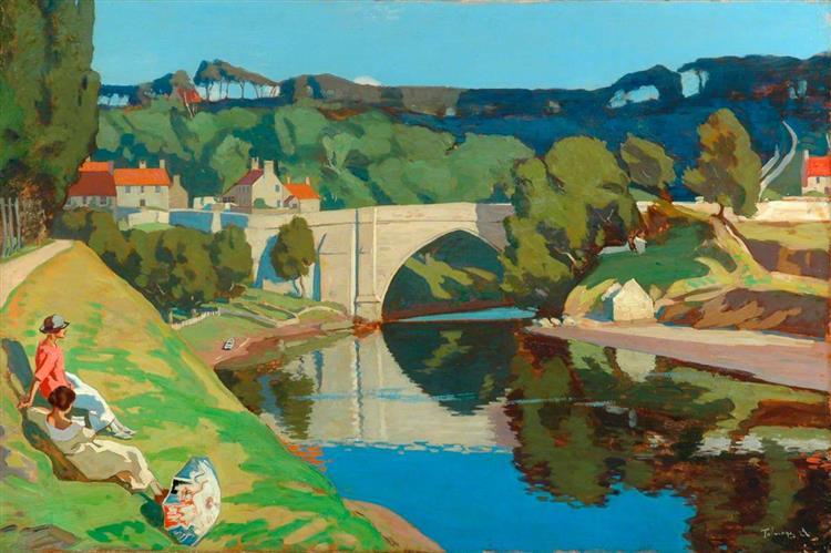 Aberdeen. Brig O'Balgownie, 1924 - Algernon Talmage