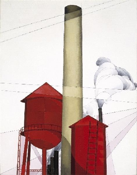 Buildings, 1930 - Charles Demuth
