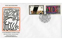 Combatti l'AIDS in tutto il mondo - Keith Haring
