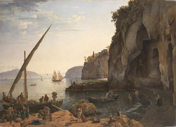 View of Sorrento, 1826 - Sylvester Shchedrin