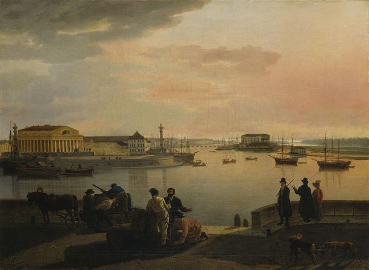 View of Petersburg, 1817 - Silvestr Shchedrin