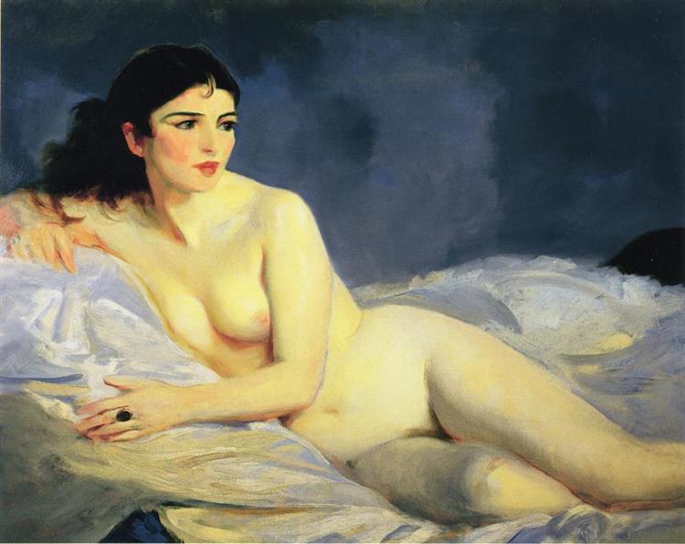 Betalo, Nude, 1916 - Robert Henri
