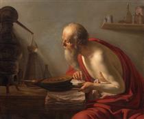 An Alchemist - Иоганн Морельсе