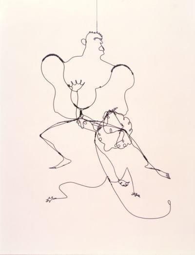HERCULES AND LION, 1928 - Alexander Calder