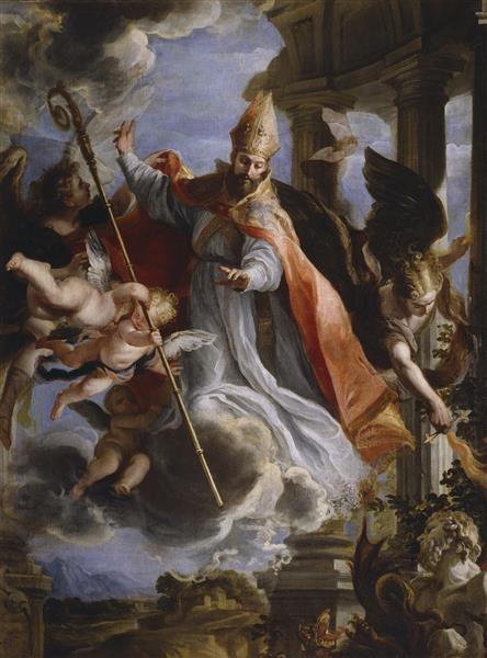 Triunfo de San Agustín, 1664 - Claudio Coello
