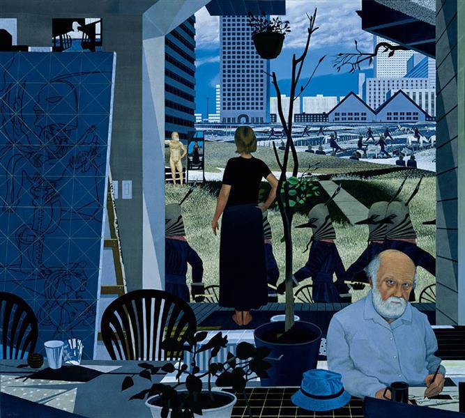 March Past, 2000 - Ivan Eyre