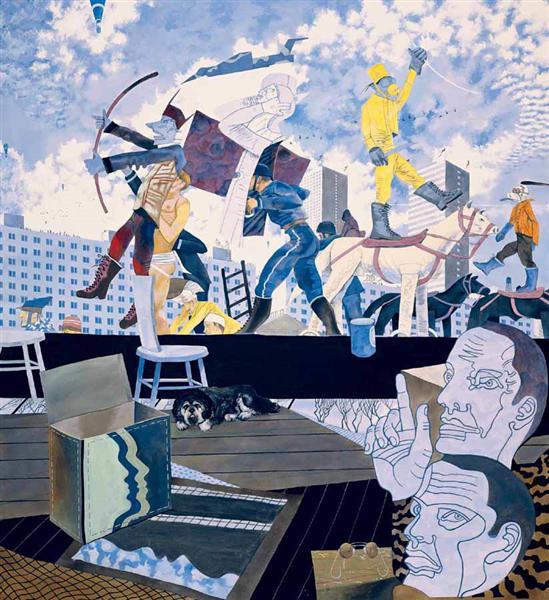 High Road, 1987 - Ivan Eyre