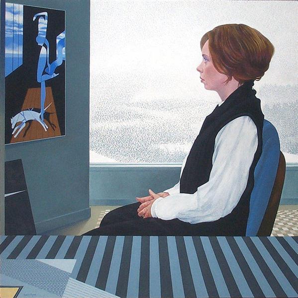 Winter Window, 2001 - Ivan Eyre
