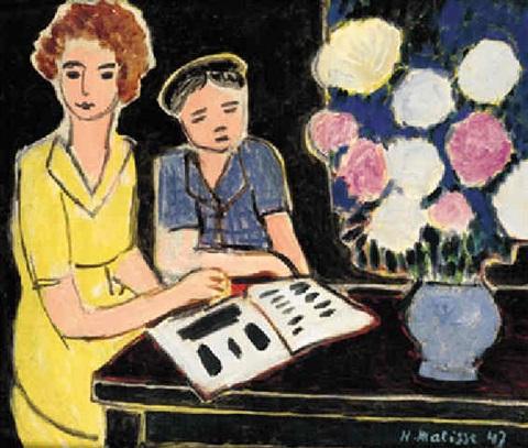 La Lecture, 1947 - Henri Matisse