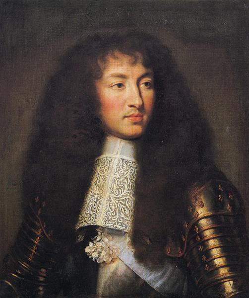 Portrait of Louis XIV - Charles Le Brun