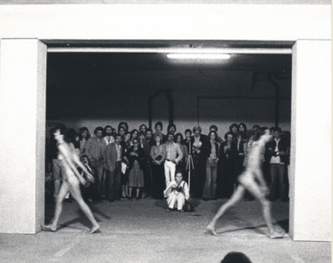 Interruption In Space, 1977 - Marina Abramović