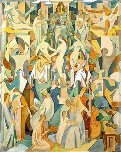 The Arts, c.1956 - c.1957 - Carlos Quizpez Asín