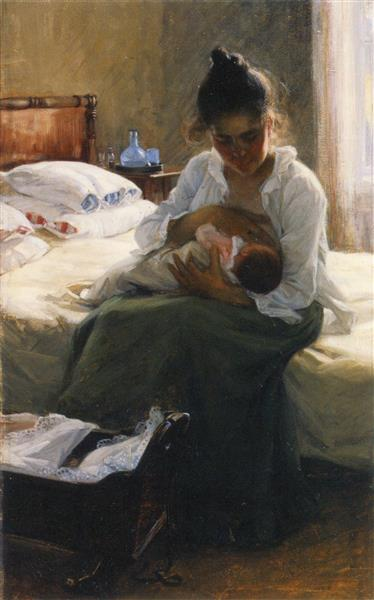 Mother, 1893 - Elin Danielson-Gambogi