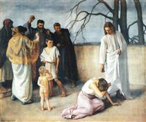 Jeesus ja langennut nainen - Järnefelt, Eero